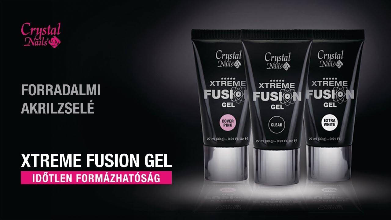Crystal Nails Xtreme Fusion Acrylgel Időtlen Formázhatóság