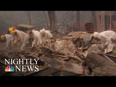Death Toll Continues To Rise, Nearly 300 Missing In Northern California Camp Fire | NBC Nightly News