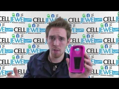 CellJewel.com - ZTE Galaxy Express Pink Skin/Black Hybrid Skin/Snap Case