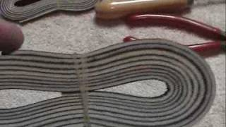 How To Relace or Restring an entire baseball glove from start to finish (1 of 6)