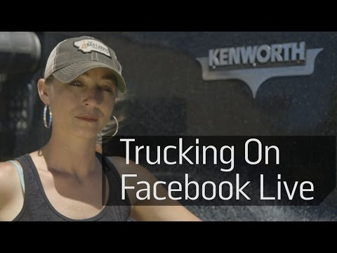 Hitch A Ride With A Long-Haul Trucker Via Facebook Live