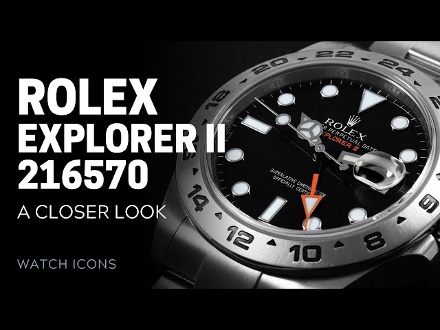 Rolex Explorer 216570: The Modern Orange Hand | SwissWatchExpo [Rolex Watches]