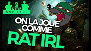TWO GUYS ONE RANK #29 - Twitch Jungle : On la joue comme Rat IRL