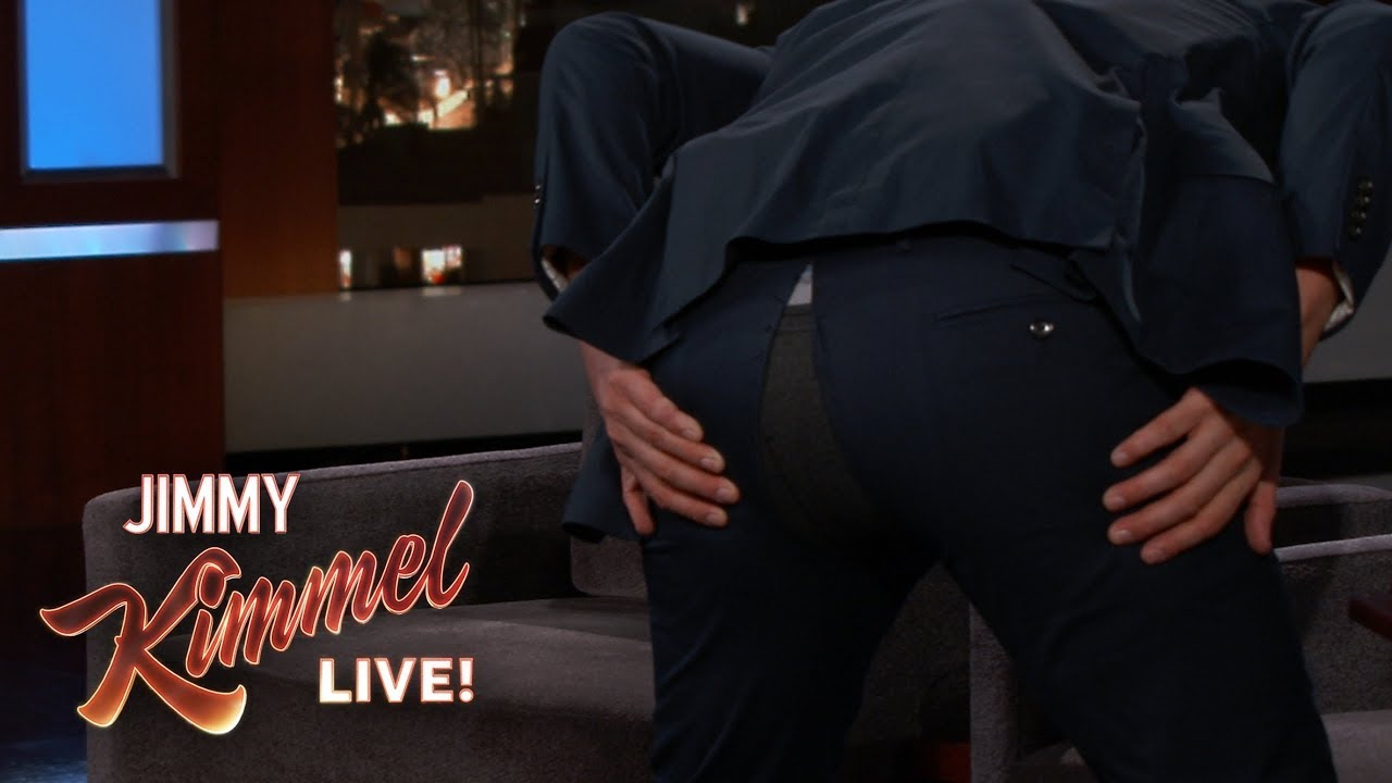 Nick Kroll Splits His Pants During Kimmel Interview