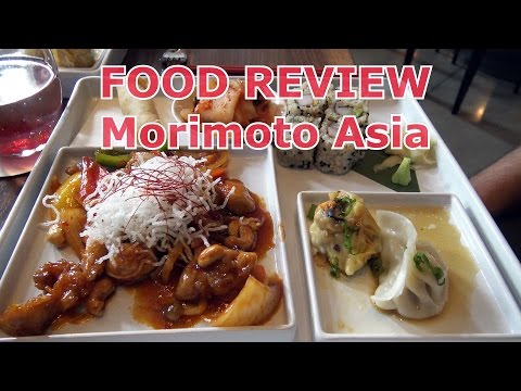 FOOD REVIEW Morimoto Asia - Disney Springs - Walt Disney World