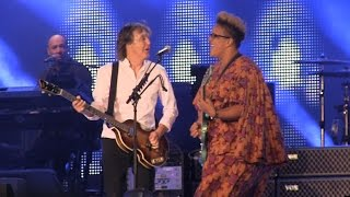 "Paul McCartney- ""Get Back"" w/ Brittany Howard of Alabama Shakes @ Lollapalooza 7-31-15"