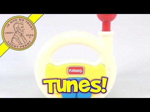 Playskool Toy Musical Notes Radio No. 5417, 1992