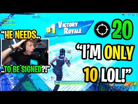 This 10 YEAR OLD Is The BEST Fortnite Player I EVER Met... (he Should Be A PRO!)