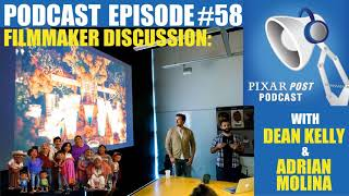 Pixar Post Podcast 058: Interview with Co-Director Adrian Molina & Lead Story Artist Dean Kelly...