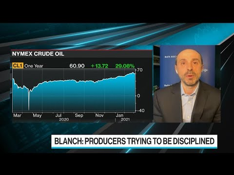 Oil Could Hit $100 in Three Years: BofA's Blanch