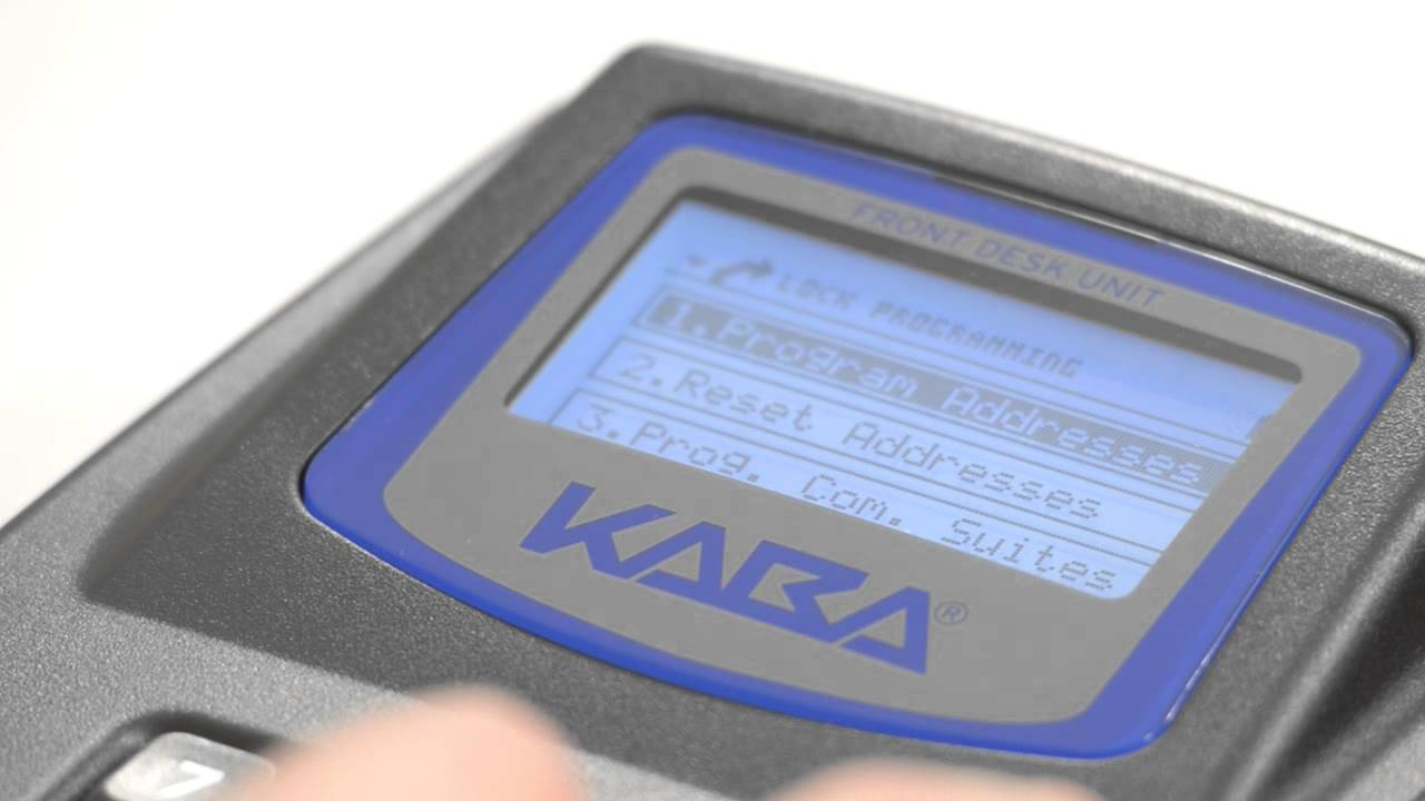 Kaba UK: Programming a Lock