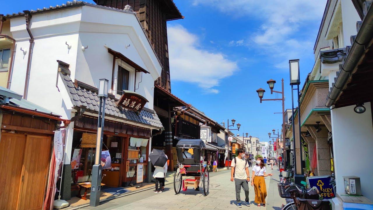 4K Japan Walk - Exploring Kawagoe, a Popular Daytrip Destination from Tokyo - 川越市 - Slow TV