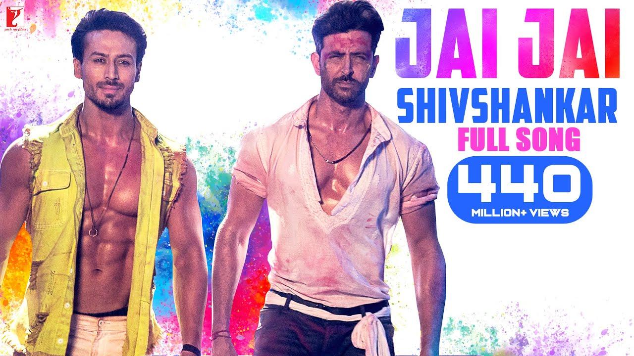Jai Jai Shivshankar Full Song | War | Hrithik Roshan, Tiger Shroff | Vishal & Shekhar, Vishal, B