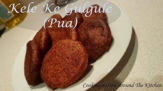 Kele ke gulgule-How to make sweet and crispy banana Fritters-Gulgula Recipe in Hindi- Pua Recipe