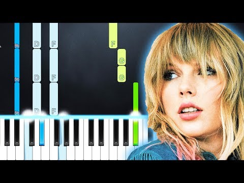 Taylor Swift - It's Nice To Have A Friend (Piano Tutorial) By MUSICHELP