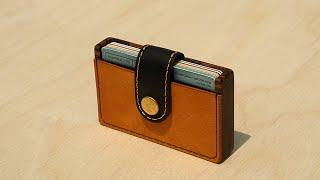 에버라스팅 원목 가죽 수제 카드 지갑