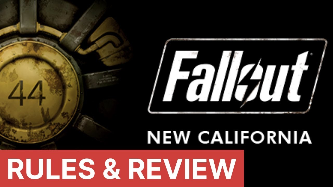 Fallout Board Game | New California Expansion | Rules Explained & Review