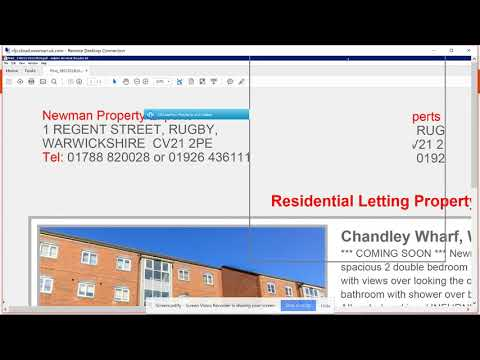 How to Print Property Lists and Window Cards- Lettings