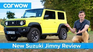 New Suzuki Jimny SUV 2019 - see why I love it... but you might not! Video