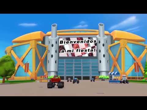Vídeo Invitación Digital Blaze and The Monster Machines