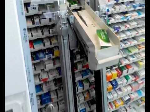 Аптечный робот в Аптеке Будущего на Крещатике, 44