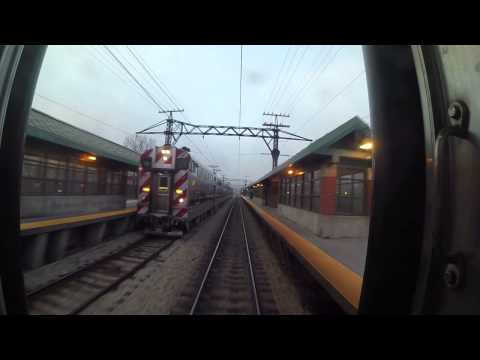 METRA Electric Line - Randolph to Kensington EXPRESS GoPro
