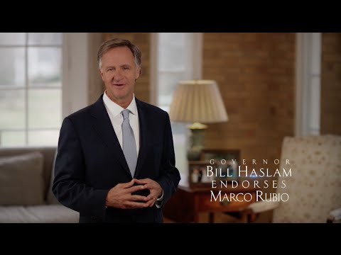 Tennessee Governor Bill Haslam Endorses Marco Rubio | Marco Rubio for President