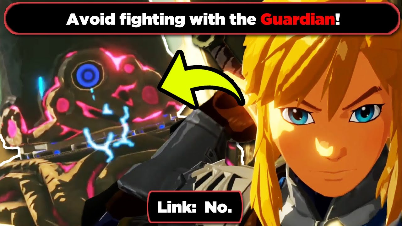 Can You Beat A Guardian Solo In Hyrule Warriors Age Of Calamity Youtube