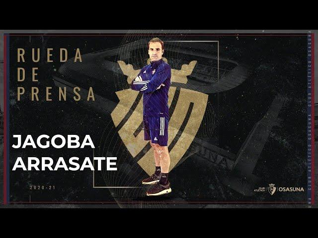 Rueda de prensa de Jagoba Arrasate previa al encuentro Villarreal vs Osasuna