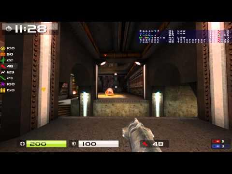 Quake Live: Argentina CA hidden fortress