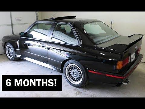 BMW E30 M3 Old Start Cold Start