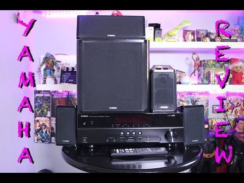 YAMAHA YHT4920UBL UNBOXING+REVIEW