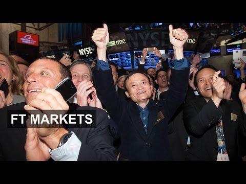 Alibaba makes history