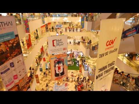 Saigon 2015 New Vivo City Shopping Center - Vietnam