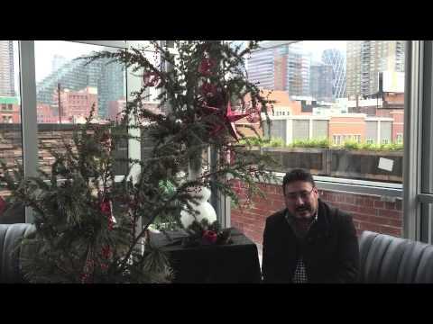 Pedro Zamora les desea una Feliz Navidad 2014 desde Rooftop 48