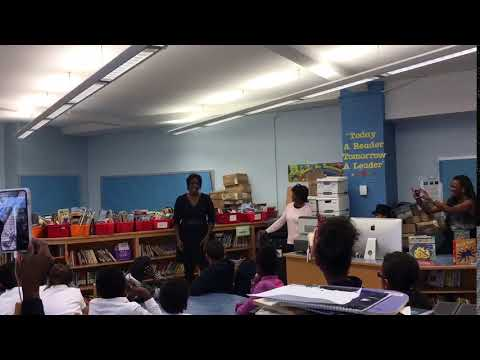 Angel Blue Sings For PS 197 4th Graders
