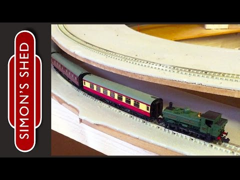 N Gauge Model Railway Layout Update: Shed Valley Railway 7