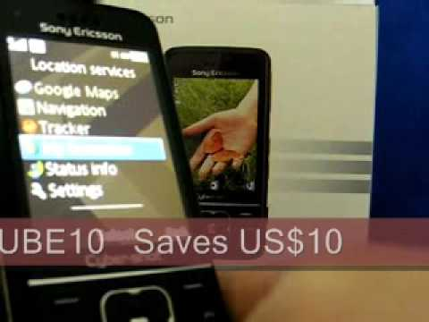Sony Ericsson C903 Unboxing Video