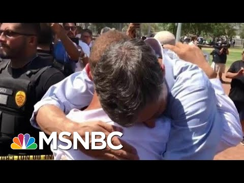 Donald Trump's Attempts At Consoling Pale In Comparison To 2020 Candidates | Deadline | MSNBC