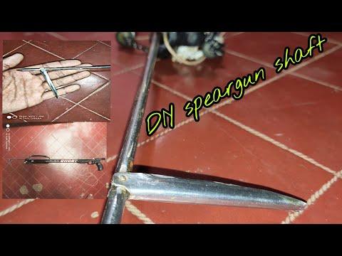 Homemade Speargun Shaft & Flopper(DIY) (spearfishing)