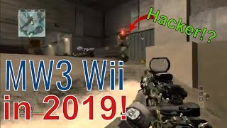 Modern Warfare 3 Wii... In 2019! Still HACKED! CoD MW3 Wii