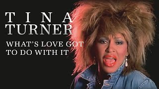 Tina Turner - What's Love Got To Do With It(Official video of Tina Turner performing Whats Love Got To Do With It from the album Private Dancer. Buy It Here: http://smarturl.it/0bovsk The video was shot in ..., 2009-03-13T14:16:51.000Z)