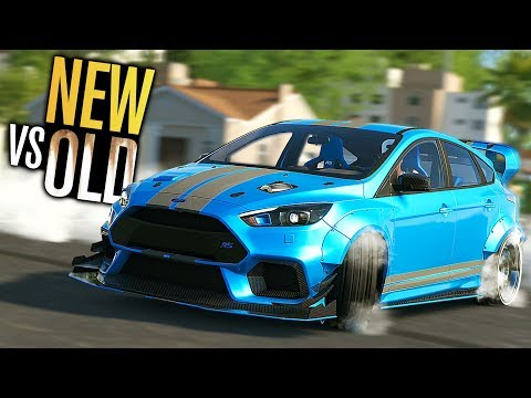 The Crew 2 - Ford Focus RS WIDEBODY Customization (NEW VS OLD)