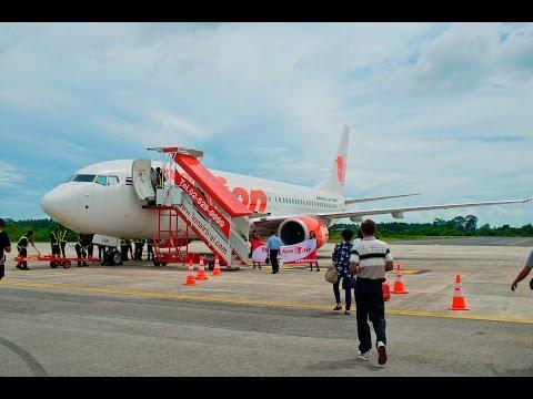 Takeoff Thai lion air NST-DMK SL8743  First Flight (นครศรีธรรมราช-ดอนเมือง)