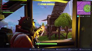 Fortnite Battle Royale 20 vs 20 Jeu de fin avec Stahh General