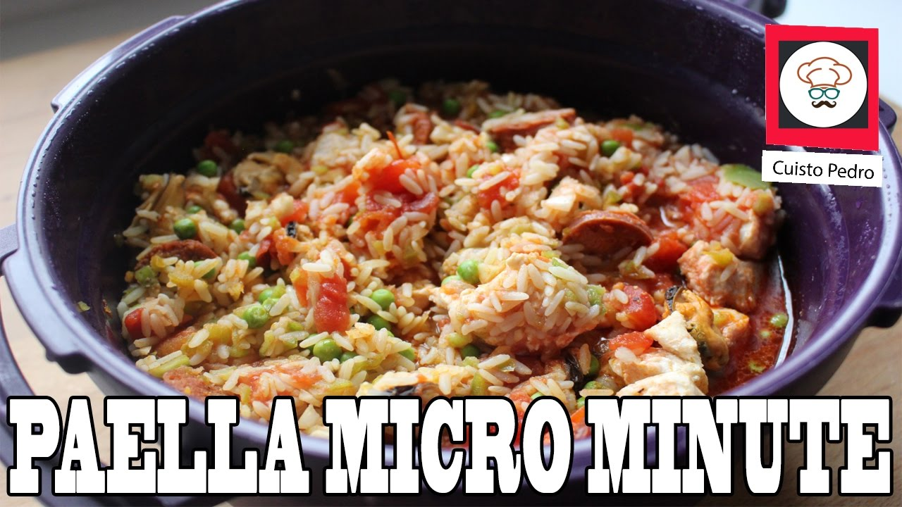 recette rapide paella au micro minute tupperware youtube. Black Bedroom Furniture Sets. Home Design Ideas