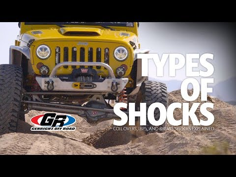 Types Of Shocks Explained | GenRight Off Road
