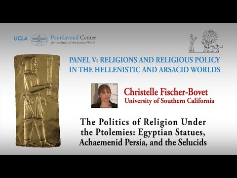 Thumbnail of The Politics of Religion under the Ptolemies: Egyptian Statues, Achaemenid Persia, and the Seleucids video