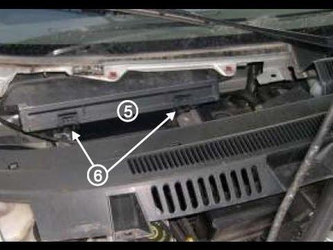Как менять фильтр салона на транзите фото 656-651