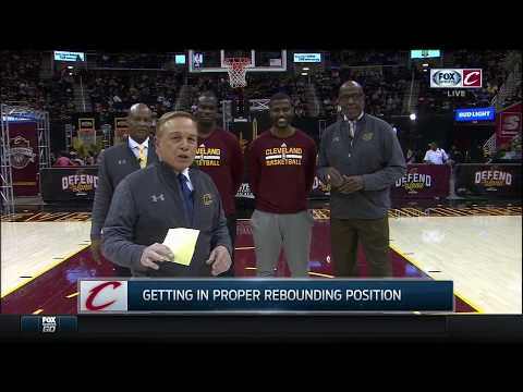 Mike Fratello, Austin Carr & Campy Russell give Cleveland Cavaliers fans crash course in rebounding